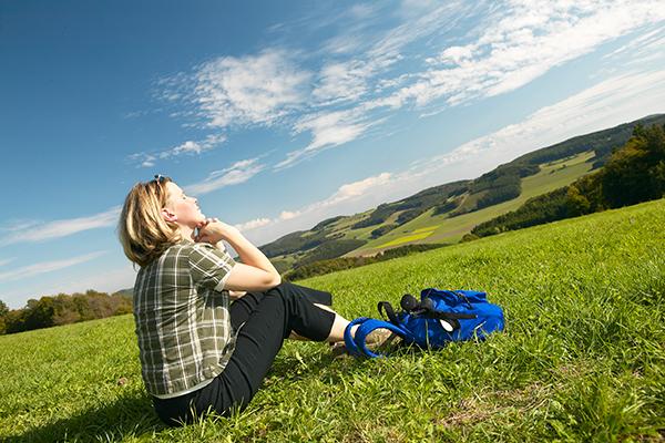 Entspannen und die unberührte Natur der Upländer Bergwelt erleben.