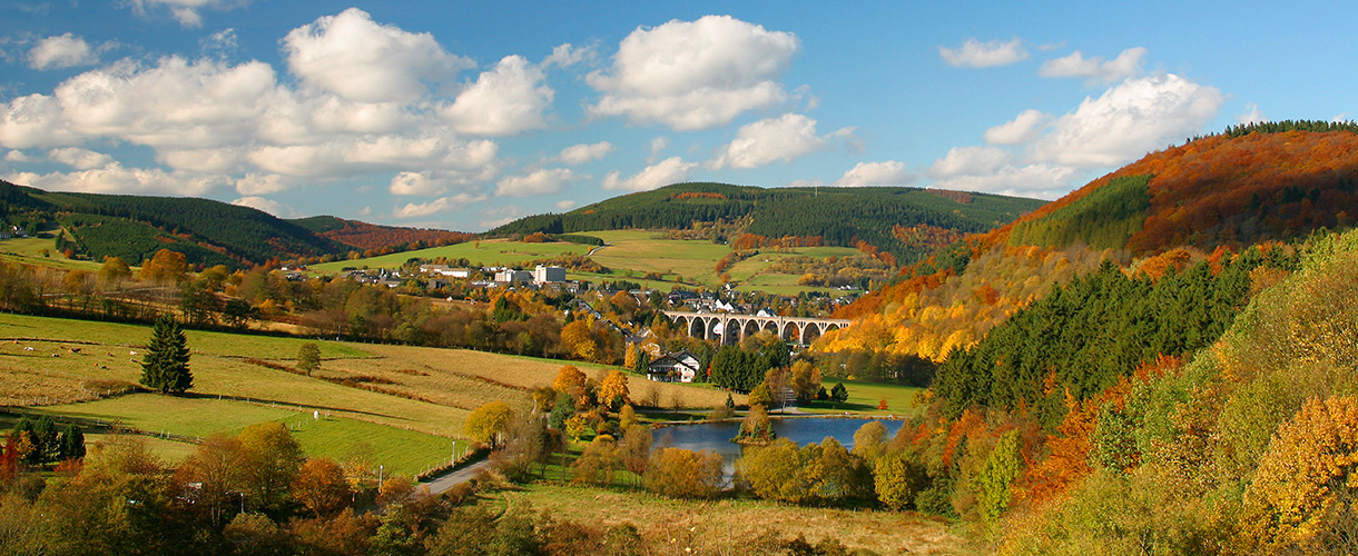 Herrlich bunte Herbsttage im Willinger Upland!
